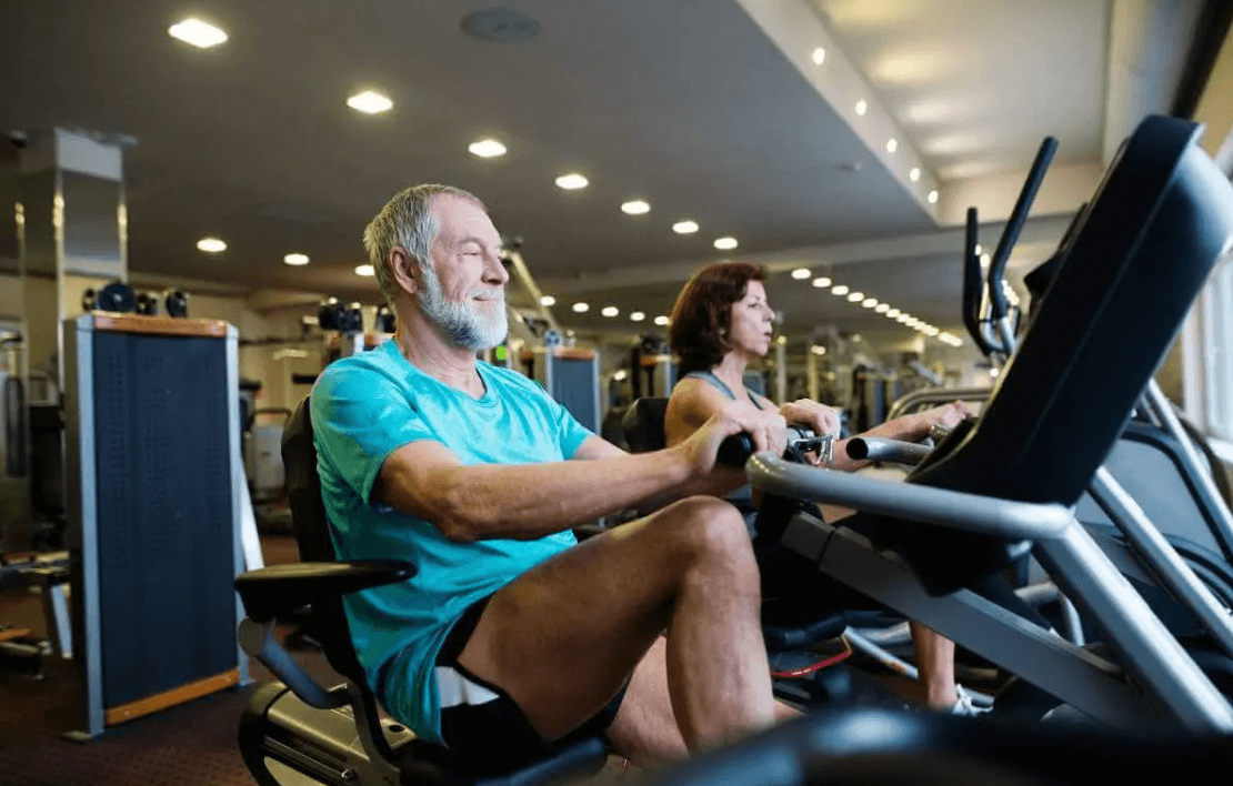exercise bikes that come with back support are ideal for seniors