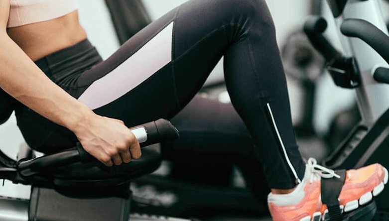 exercise bikes with back support are low impact on your joints