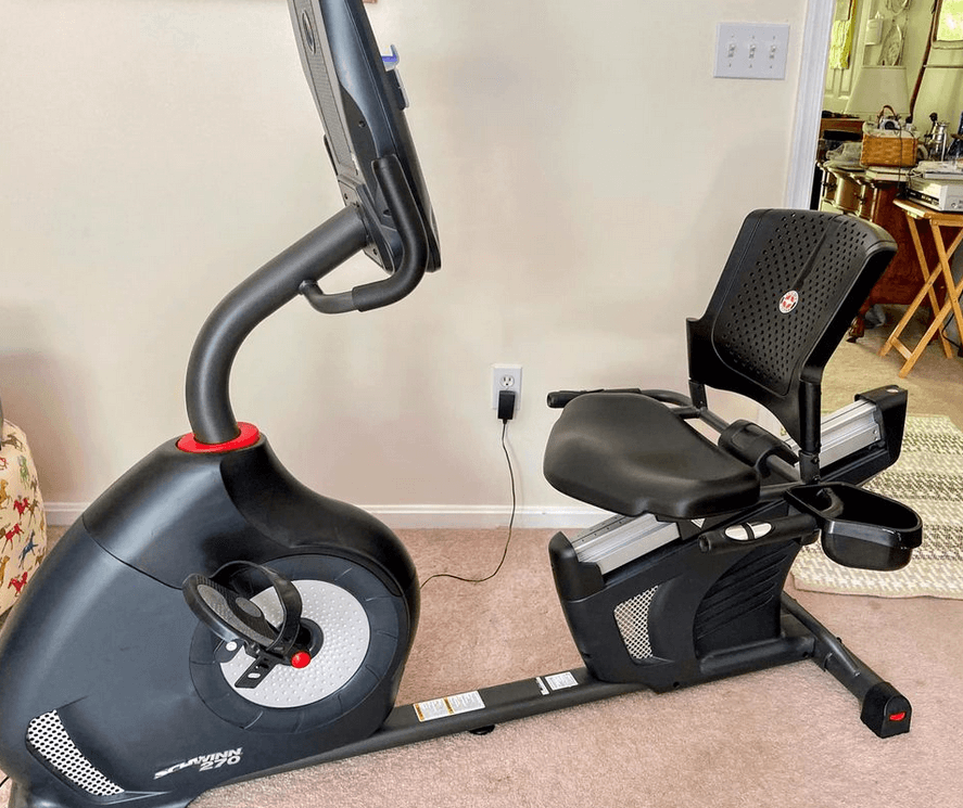 our pick for the best exercise bike with back support the schwinn 270