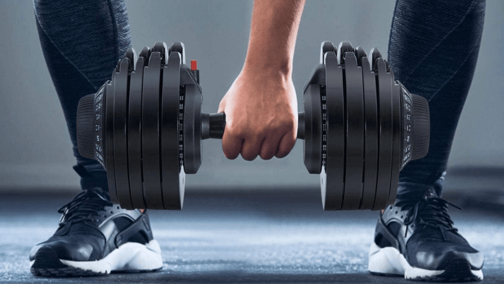 A good adjustable dumbbell shouldn't cost you much