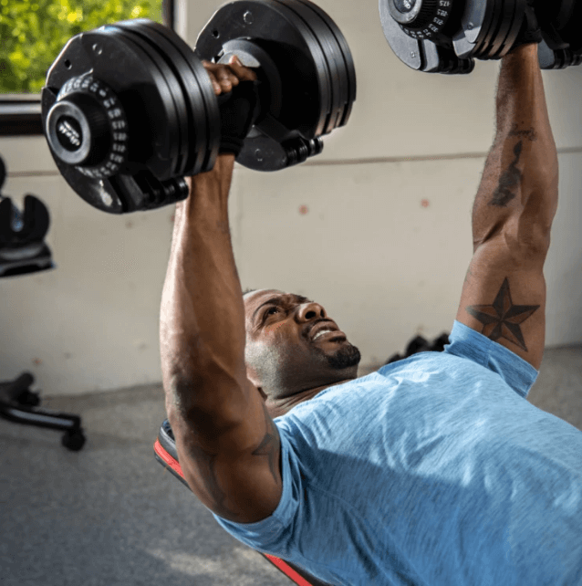 The ATIVAFIT Adjustable Dumbbell offers the best bang for the buck