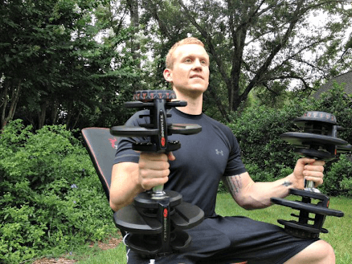 Bowflex dumbbells pack in a long list of awesome features