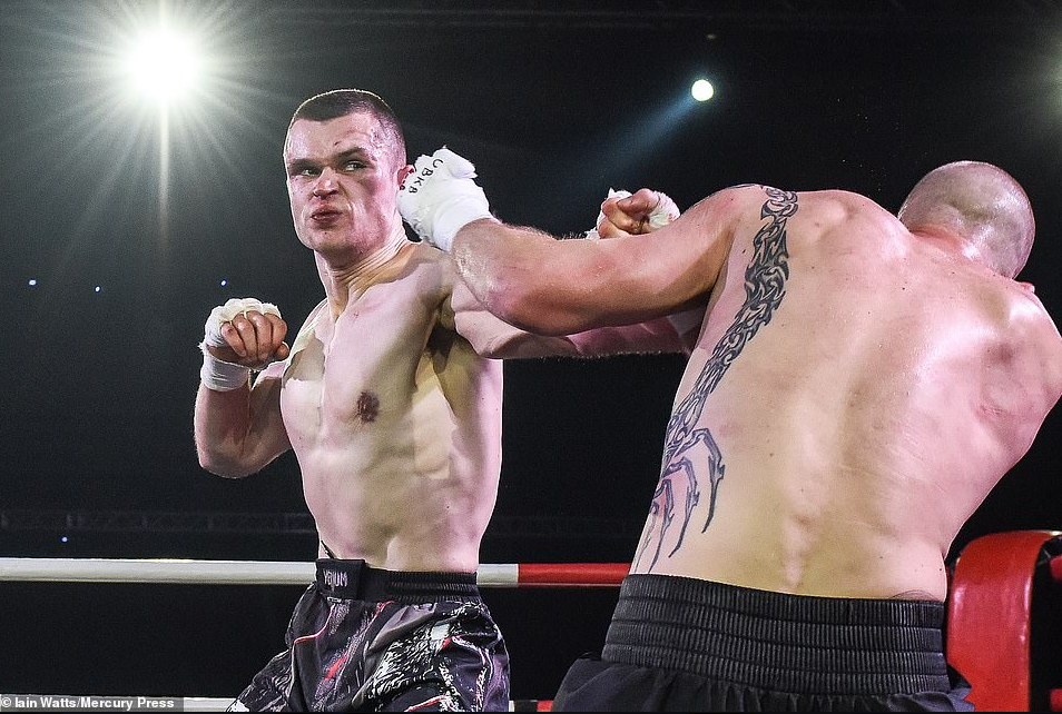 Boxers can fight without gloves
