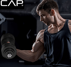 Cap also have some awesome dumbbells