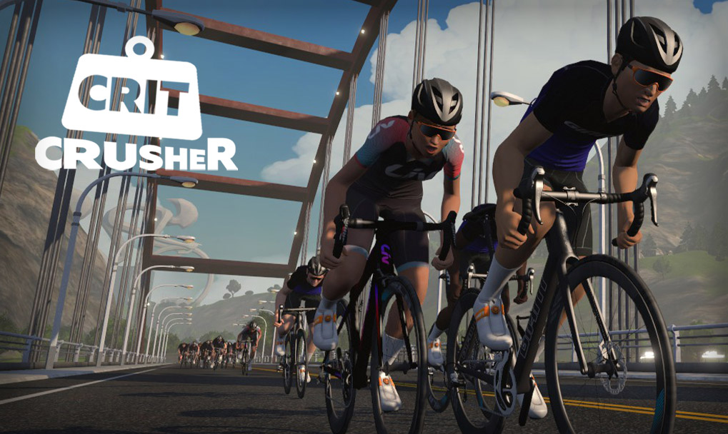 The Crit Crusher is perfect for sprint and breakaway