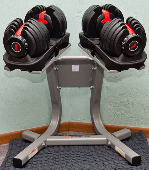 You can also use these dumbbells for a variety of workouts