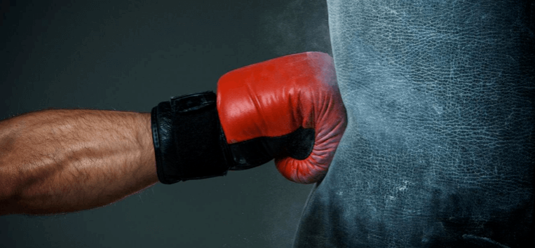 How to punching bag without injury the finger panel should stay level