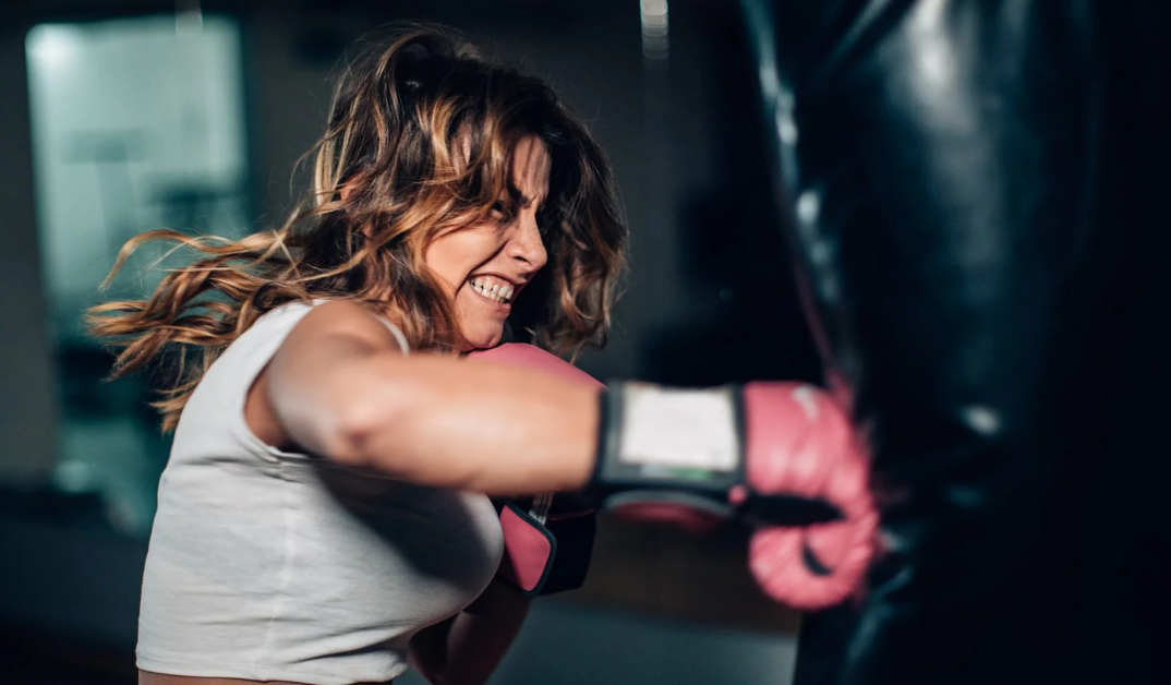 Spending time on the punching bag has several benefits