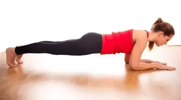 Shaking when planking is natural and results from muscle fatigue