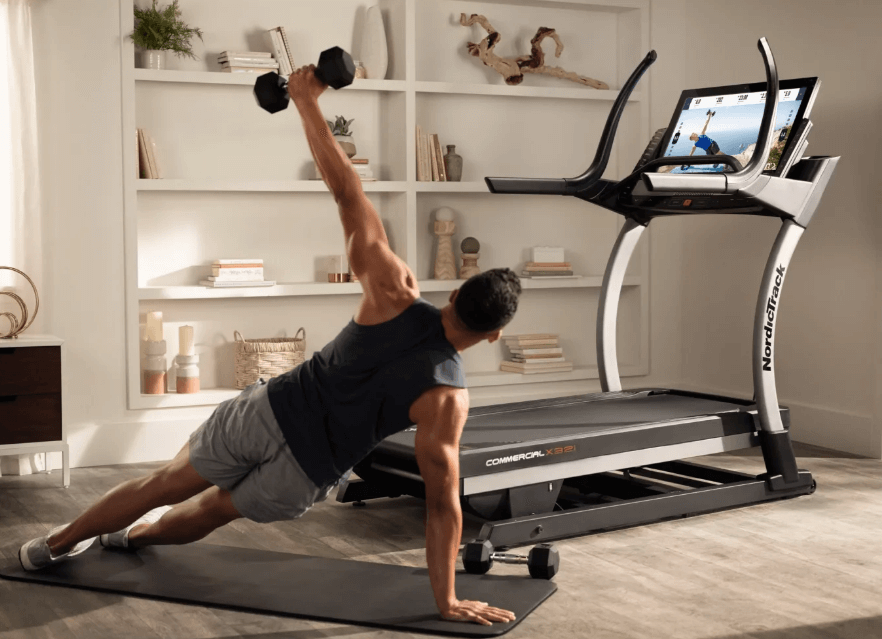 NordicTrack treadmills stand out with a solid build and integrated workout apps