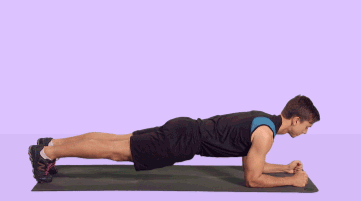 Planking is great for toning your core