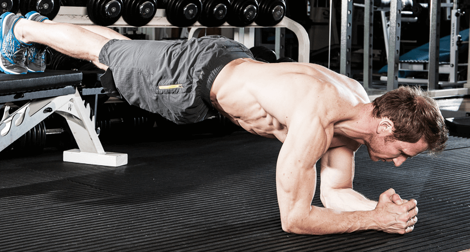 Planking does more than give you abs, it works other muscles too