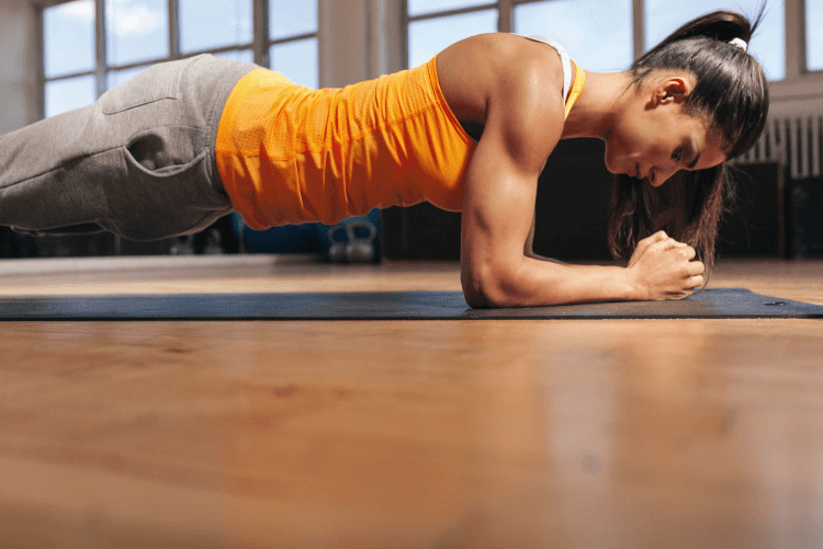 Planking offers you a laundry list of benefits