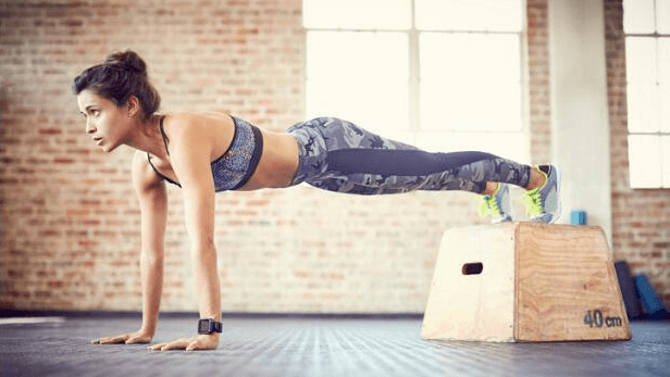 If you go with high planks, then you can make most out of this exercise