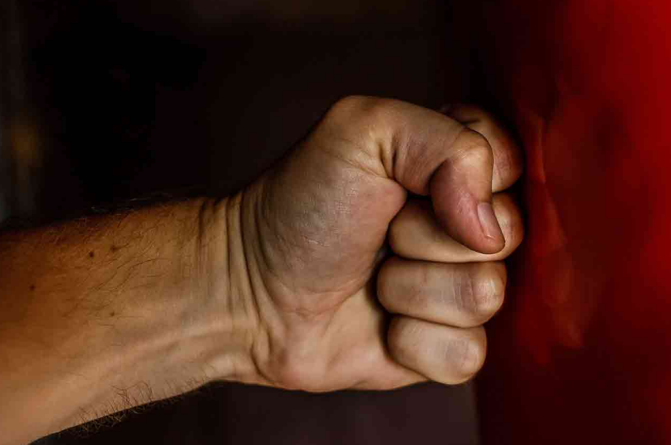 Punching without gloves isn't a problem, just make sure to do it right