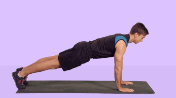 Push ups help workout several body muscles
