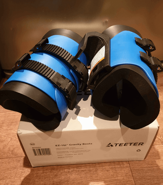 Teeter EZ-Up Gravity Boots comes in as our second pick for the best gravity boots you can find