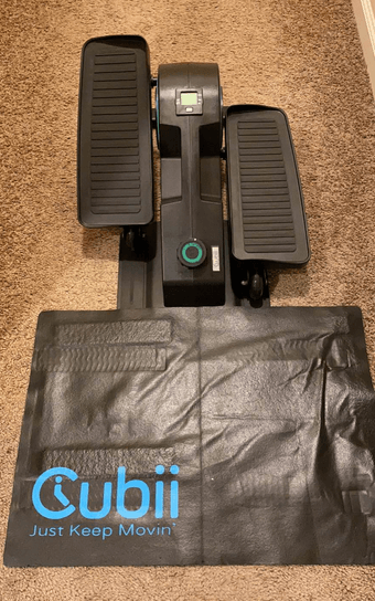 The Cubii JR1 Seated Under Desk Elliptical Machine Is a Great Alternative to The Stamina InMotion Elliptical
