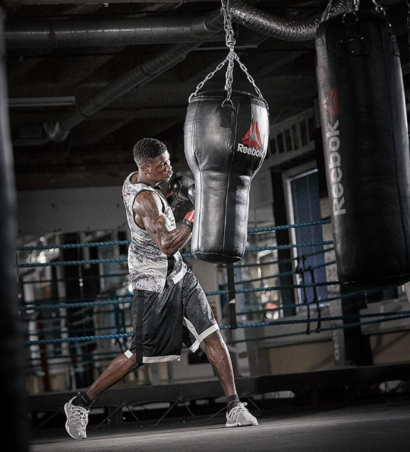 To nail the uppercut, bend your knee a bit to create momentum