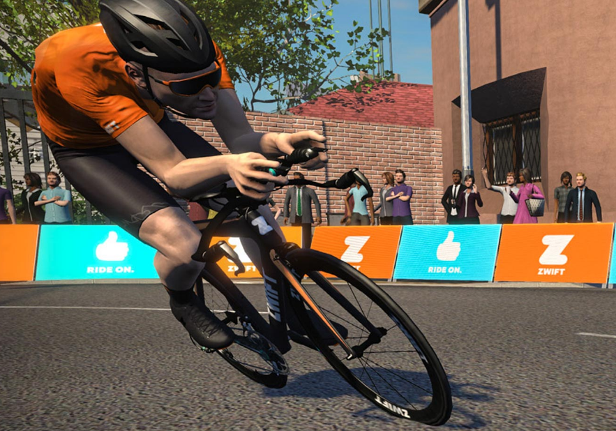 Zwift is the go-to app for the pros