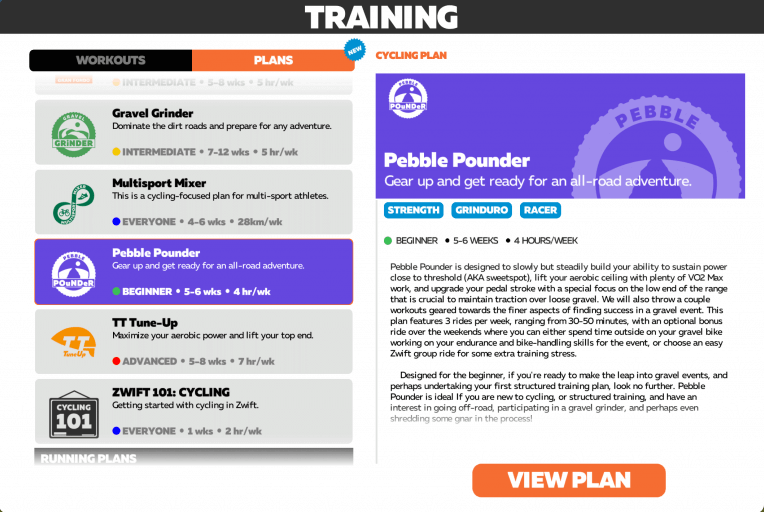 Zwift packs a laundry list of awesome programs