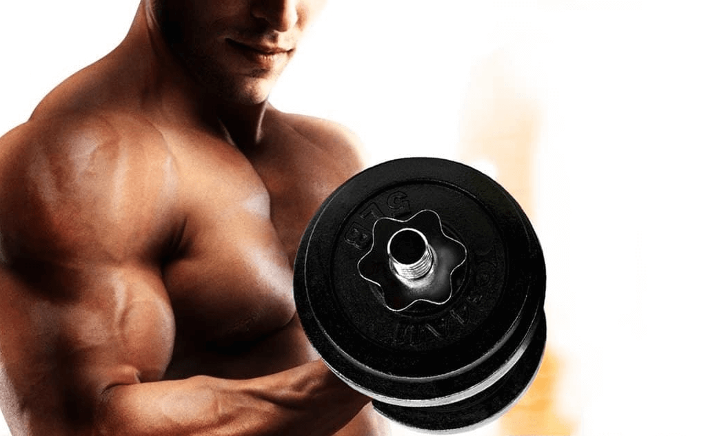 Rising star also rolls out some awesome dumbbels for any gym