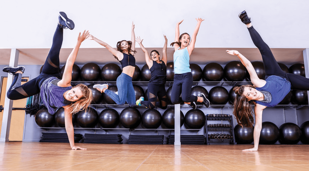 teenage girls can workout and exercise as much as they want, it will help their health and their development
