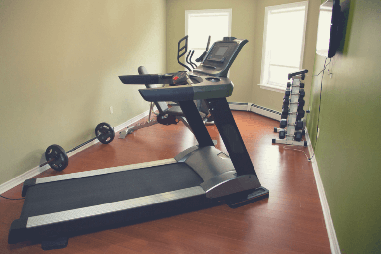 Compact treadmills are irreplaceable space savers