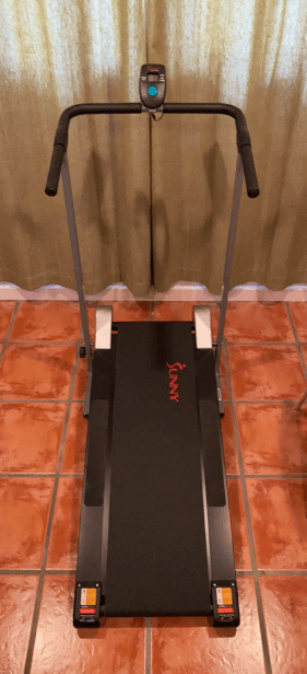 This Sunny Treadmill is the best budget option