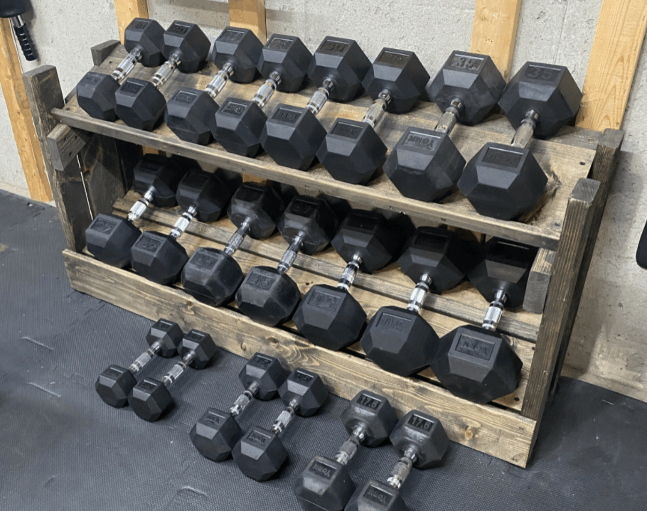 What is a DIY Dumbbell Rack Exactly?