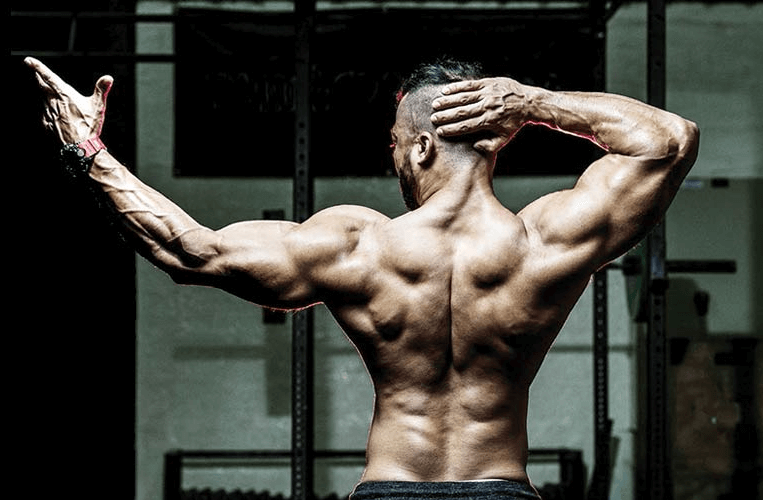 running works the back muscles too
