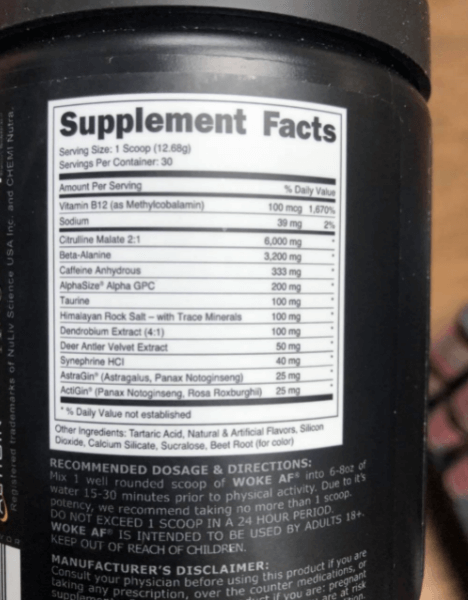 Beta alanine isn't all that necessary, you can do without it
