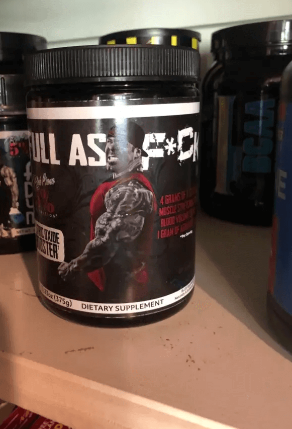 Full as fu-k Nutrition is designed to give you incredible pumps