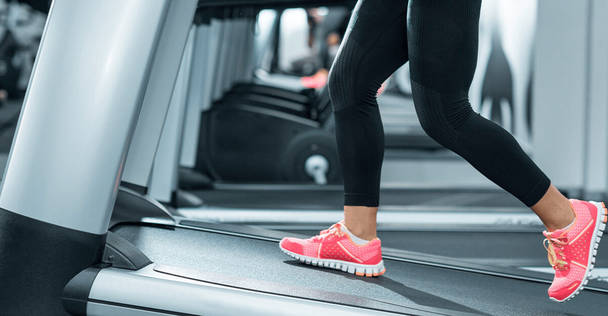 An inclined treadmill is one of the best ways to get toned thighs