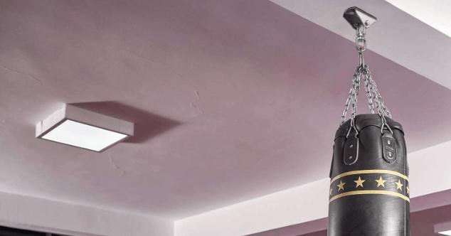 Garage punching bag hangers can be a real lifesaver