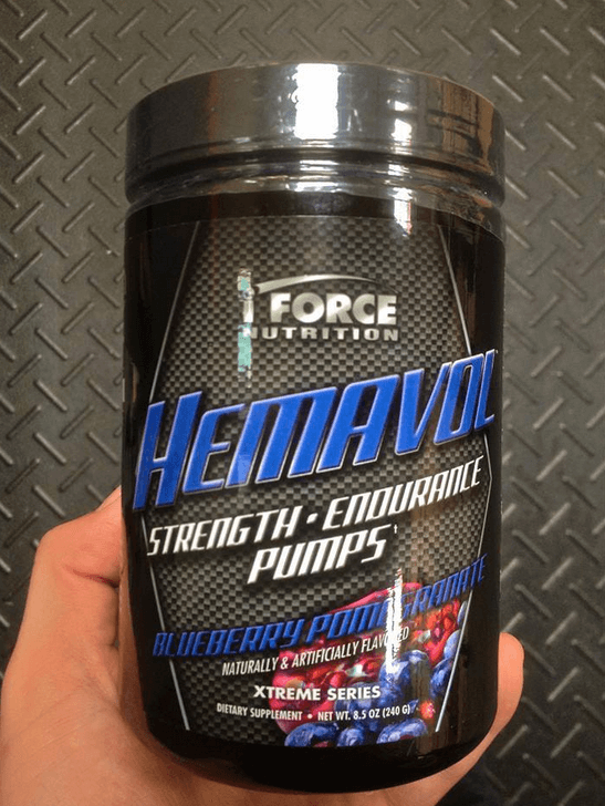 Hemavol is the go-to pre-workout for better muscle volume and strength