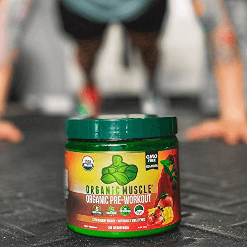 Organic Muscle is loaded with safe and healthy organic ingredients