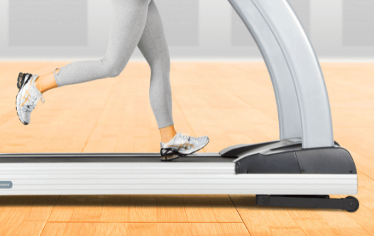 This 3g Elite machine's wide track offers plenty of room for running