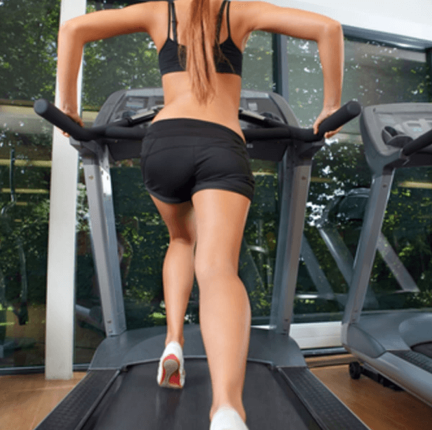 And you can tone your butt pretty fast with these machines