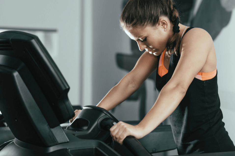 Using an incline treadmill at home also means you don't have to parade your body out there