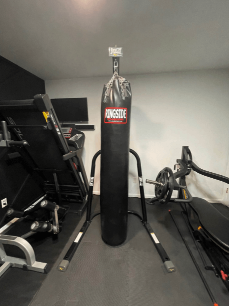 The Ringside 100 pound punching bag is my favorite for good reasons