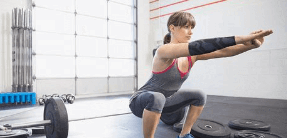 1000 squats really tests your fitness level
