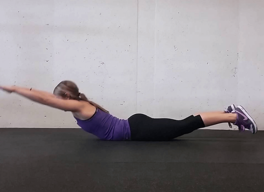 One cool thing about this exercise is that no equipment is needed