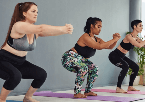 People can try doing 1000 squats to lose weight