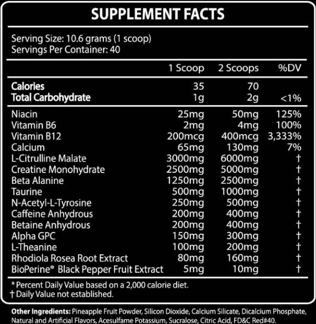 There still exists natural preworkouts with effective ingredients